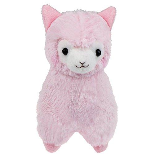 Cuddly Llama Pink Alpaca Doll 7