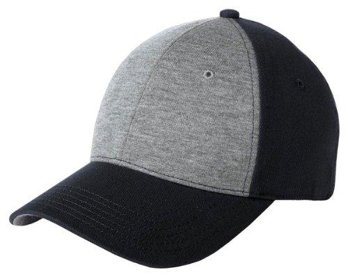Sport-Tek Men's Jersey Front Cap OSFA Vintage Heather/ (Jersey Vintage Cap)