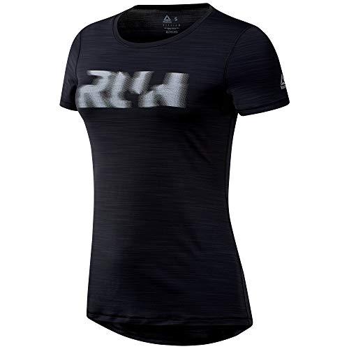 Activchill shirt Reebok Black T Running Femme WzSOUnAYq