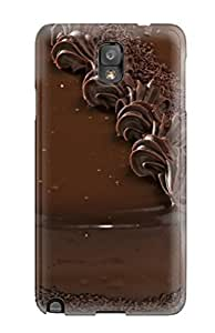 New Arrival Case Cover With EkyUUFN2738hgxRz Design For Galaxy Note 3- Chocolate Mud Cake