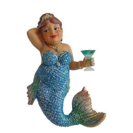 412XFHSJ3NL._SS450_ Mermaid Christmas Ornaments