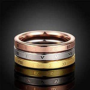 Stainless Steel Fashion Wedding Ring for woman