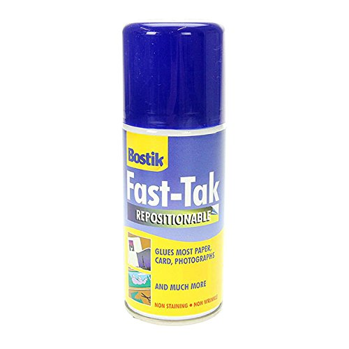 Fast-Tak Bostik Aerosol Can, Adhesive, 3.18 x 8.89 x 13.8 cm 80219