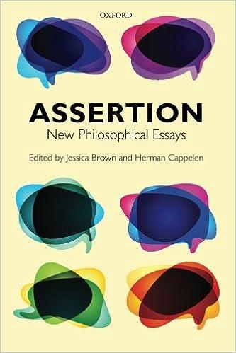 com assertion new philosophical essays  assertion new philosophical essays reprint edition