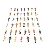Docooler 50pcs G Scale 1:30 Mix Painted Model People for sale  Delivered anywhere in USA