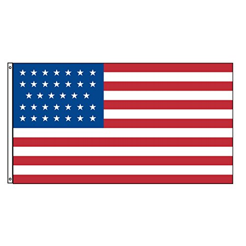 Nylon 34 Star American Flag - 2