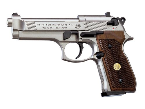Beretta 92FS, Nickel, Wood Grips air pistol from Beretta
