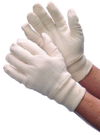 Jersey Reversible Gloves - Reversible Natural Jersey Glove Case Pack 300 , Automotive, tool & industrial , Office maintenance, janitorial & lunchroom , Gloves , Fabric
