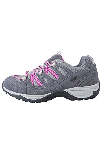 Mountain Warehouse Direction Damen Wasserdichte Schuhe Wandern Outdoor Trekking Sport aktiv Dunkelgrau 40 (EU)