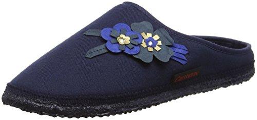 Dk Damen blau Pantoffeln Giesswein Pattigham Blau Tpqx78