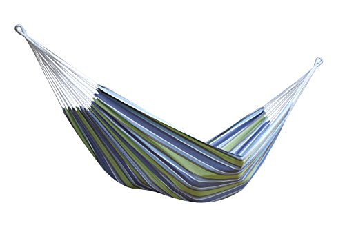 Vivere Brazilian Style Double Hammock, Oasis (Vivere Stand Steel Hammock With Double Fabric)