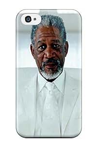 7869538K97001473 Tough Iphone Case Cover/ Case For Iphone 4/4s(morgan Freeman)
