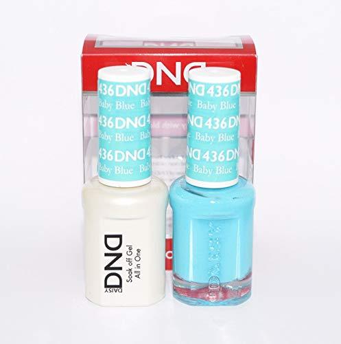 DNDDuo Gel (Gel & Matching Polish) Spring Set 436 - Baby Blue by DND Gel
