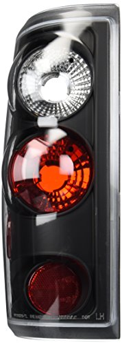 Spec-D Tuning LT-F15004JM-TM Ford F150 Black Altezza Tail Lights Brake Lamps