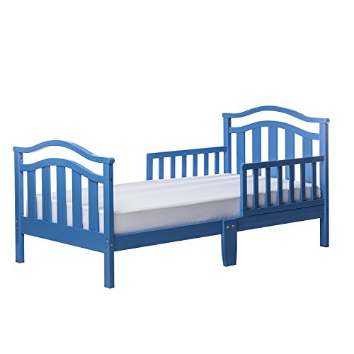 Dream On Me Elora Collection Toddler Bed, Wave Blue, 19 Poun