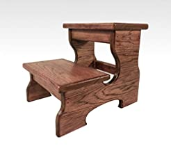 Two Step Stool Wood by CW Furniture in B...