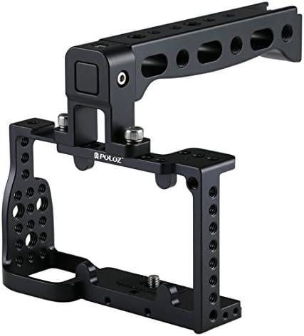 KANEED カメラアクセサリー 撮影機材 カメラケージハンドルスタビライザーソニーA6300 / A6000用 (色 : Bl