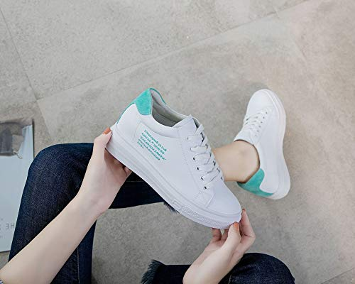 Women'S Autumn KPHY Sports Leisure Fashion Thirty Green Shoes Leather Five Students wUq5qtF