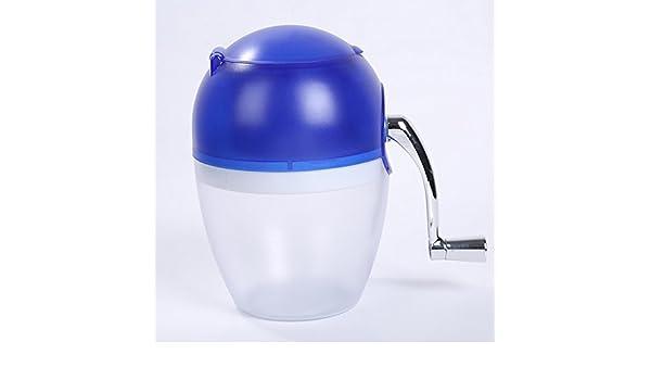 Afeitadora de hielo portátil, manual, para hacer hielo manual ...