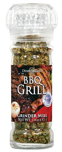 Dean Jacob's BBQ GRILL ~ 2 oz. Glass Grinder