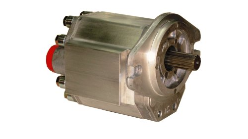 Prince Manufacturing SP25A22D9H1-L Hydraulic Gear Pump, 33.31 HP Motor, 3000 PSI Maximum Pressure, 16.81 GPM Maximum Flow Rate, Counter Clockwise Rotation, Self-Lubricating, SAE B Flange, Aluminum by Prince Manufacturing