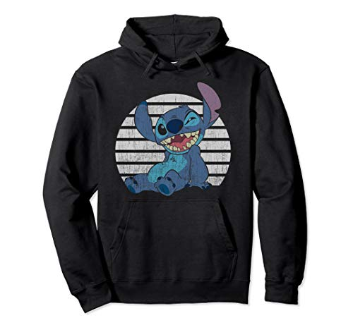 - Disney Classic Winking Stitch Pullover Hoodie