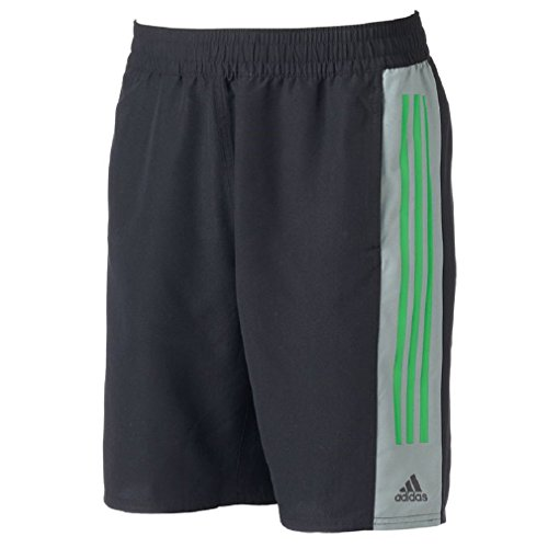 adidas Men's Big & Tall Colorblock Microfiber Volley Swim (Adidas Microfiber Shorts)