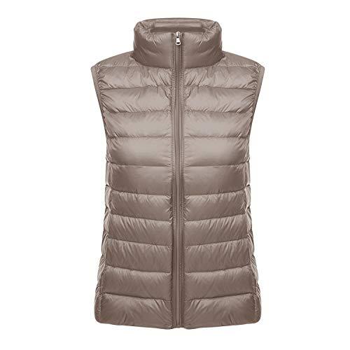 Vest Outerwear Lightweight Women's Camel Jacket Puffer Down Packable Color Coat Lisli Jacket Vest Down X8SnwqzA
