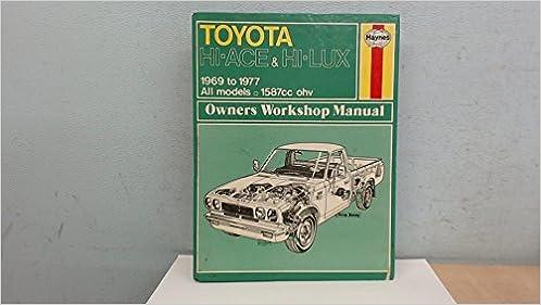 haynes workshop manuals toyota hilux