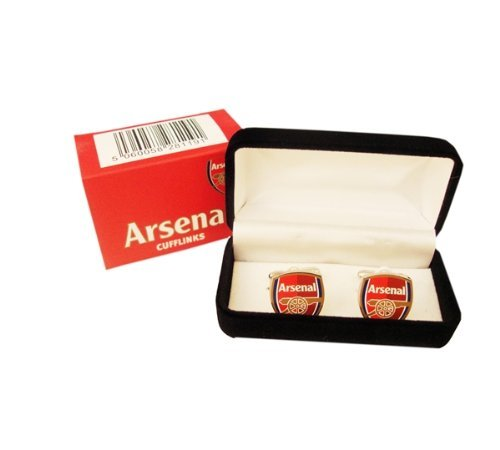 New Official Football Team Crest Cufflinks (Arsenal FC)