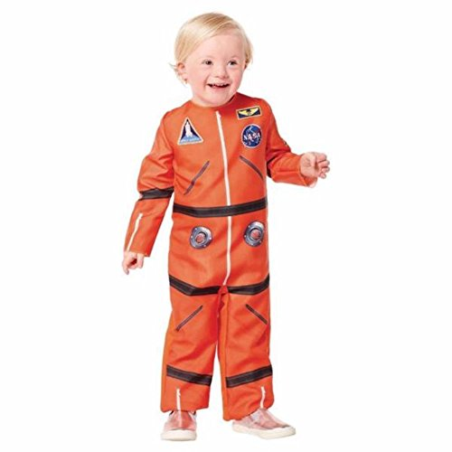 Toddler Boys Astronaut Space Suit NASA Child Costume