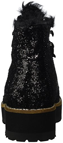 Bottes Femme Courtes Glitter 15B69 1 Buffalo avec Chaude Doublure Awptqdx8
