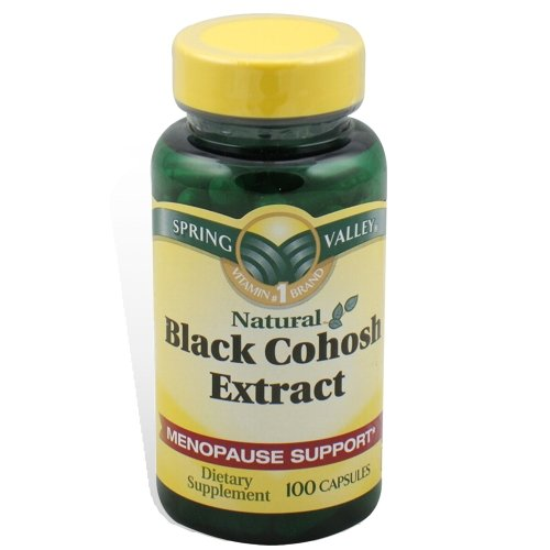 Spring Valley – Black Cohosh Extract, 100, Health Care Stuffs