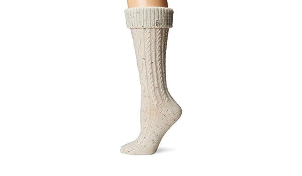 UGG Calcetines altos de lluvia para mujeres Shaye Tall de Australia (crema, tama?o del zapato 5-10): Amazon.es: Ropa y accesorios