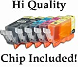 15 (3 each) Pack Non-OEM Ink for PGI-225 CLI-226 Pixma ip4820 iP4920 MG5120 MG5220 MG5320 MG6120 MG6220 MG8120 MG8220 MX882 PRinter, Office Central
