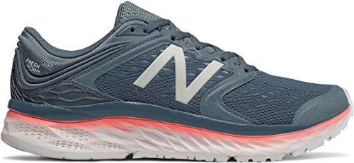 New Balance Women's 1080v8 Fresh Foam Running Shoe Blue 8 B US