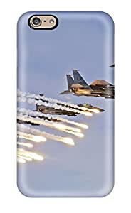 Alicia Russo Lilith's Shop Flexible Tpu Back Case Cover For Iphone 6 - F 15e Strike Eagles Launch Chaffs & Flares 5405834K53310686