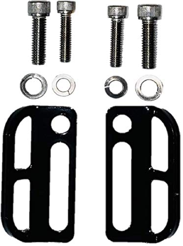 Kustom Cycle Parts Aftermarket Harley Davidson Touring Rear Tie Down Bracket fits 2010 to 2019. All Parts Included. MADE IN USA Patent Pending