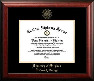 University of Maryland University College Graduation Diploma Frame by Premier Frames (Image #1)