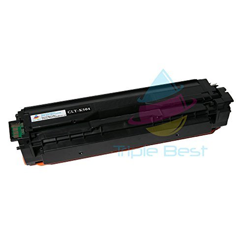 Triple Best CLT-K504S Compatible Black Laser Toner Cartridge for Samsung CLP-415NW CLP-4195FW CLX-4195FN CLX-4195FW SL-C1810W SL-C1860FW (2,500 Page Yield)