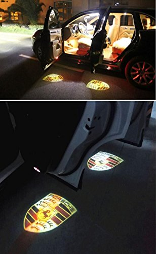 new point for porsche projected logo light for porsche 997 porsche panamera car door welcome. Black Bedroom Furniture Sets. Home Design Ideas