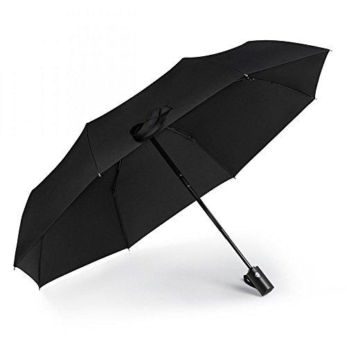 iCosow trade; Portable Automatic Travel Umbrella Anti UV Sunscreen Rain&Sunny Windproof For Men Women And Children