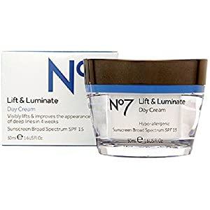 BOOTS No7 Lift & Luminate Day Cream SPF15 1.6 Fl. Oz/ 50 ml by Boots