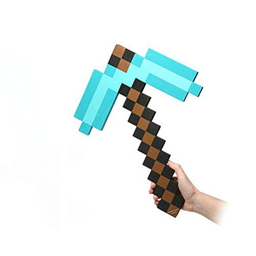 Minecraft Foam Sword & Pickaxe Combo, Set Of 2