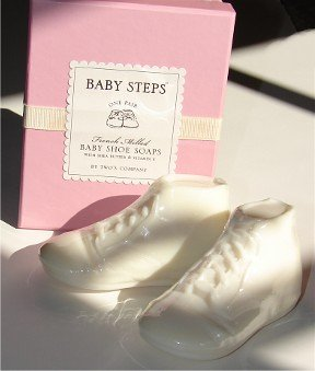 (Two's Company Baby Steps Baby Shoe Soaps In Pink)