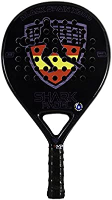 PALA BLACK SPAIN X300 SHARK PADEL SH59005 (365-370gr)