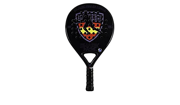 PALA BLACK SPAIN X300 SHARK PADEL SH59005 (365-370gr): Amazon.es: Deportes y aire libre