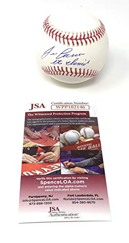 Jose Canseco Oakland Athletics Signed Autograph MLB Baseball The Chemist INSCRIBED JSA Witnessed Certified