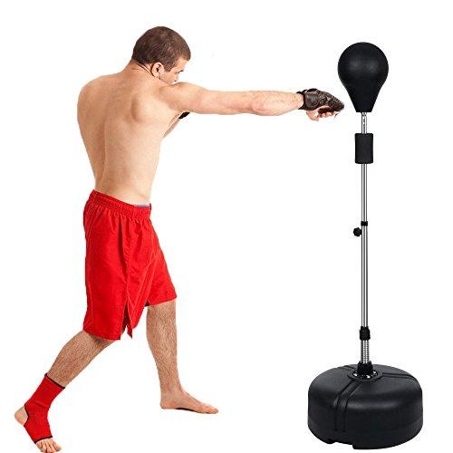 Fashine Adjustable Height Free Standing Punching Speed Ball Reflex Bag Kit by Fashine