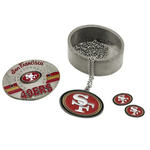 NFL San Francisco 49ers 4 in 1 Trinket Box